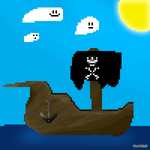 Pirate Ship by Pixel-Shell