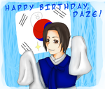 APH: Happy Birthday, daze by ToysAndChocolate