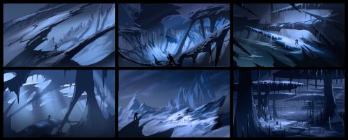 Ice World Thumbnails 2 by MeckanicalMind