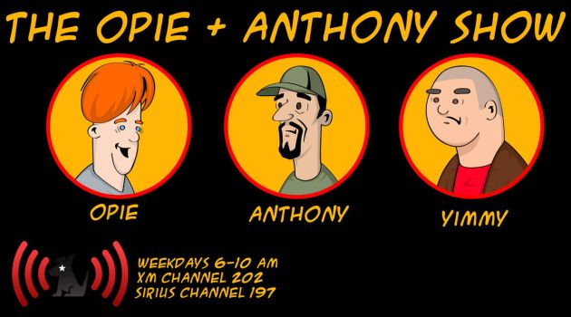 Opie and Anthony Show Banner by SpaceHeroStudios