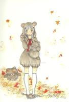 Beary Sweet Sister - Autumn by Loilie
