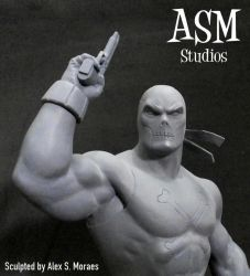 CROSSBONES MINI BUST 01 by ASM-studio