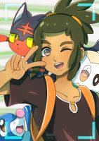 Hau is your day by Renciel