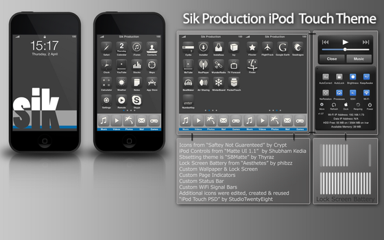 Sik iPod Theme by SikProduction