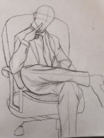 Man in the chair study by Andailite47