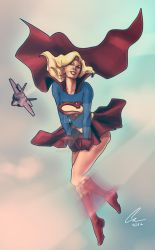 Supergirl Pin Up by randomality85