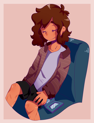 Shh He's Sleeping by StrawberryCocoa