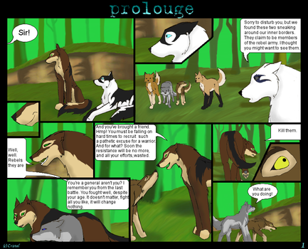 Crystaline Shards Prolouge-pg1 by Insanity-wolf