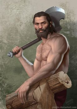 Blackwall lumberjack by ynorka