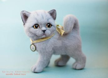 SOLD - British kitten Martha by trinnytoy