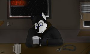 Alone with My Thoughts by JeffTheHusky