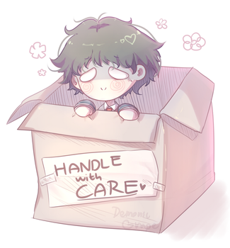 Handle with care pls by DemonicGrape