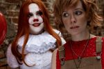 IT cosplay Beverly Marsh and Pennywise by Tenori-Tiger