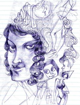 Ballpoint dreams by pucca