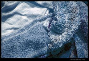 the towel is blue by hamdiggy