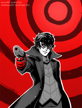 Persona 5 - Joker by Arabesque91