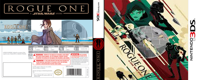Rogue One 3ds by LOrdalie