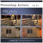 Old Photo  ps action by Honestheart26