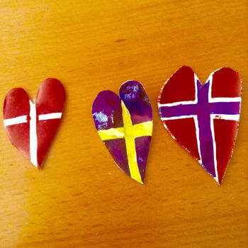Scandinavian Shrinky-Dinks by KingGustav