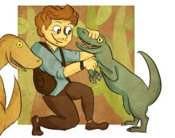 Owen and his Raptors by Paulycat