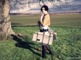 Attack on titan -  Levi by Firmily