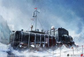 Arctic Base - Main Building by thirdeyepl