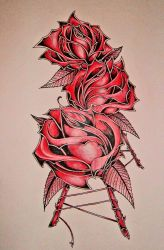 Rose Red by Zero-Axis