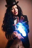 Zatanna's magic! by KaitoEinsam