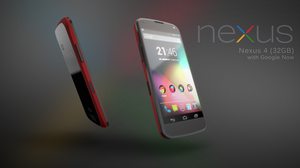Nexus 4 3D render by mezwik