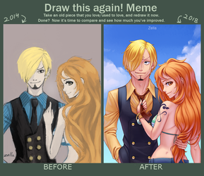Meme before and after by Zella by ZellaRoss