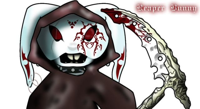 The Real Reaper Bunny RAWR by BunnyReaper