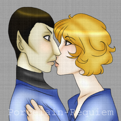 Spock and Christine by Porcelain-Requiem