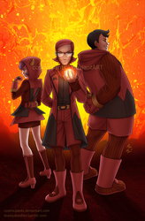 Team Magma by toastydoodles