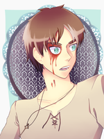 Bloodied Eren by XxShio-ChanxX