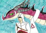 Altair and Isgar by SilentDragon64