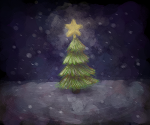 Tiny Christmas Tree by NicolaCola