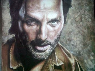 Rick Grimes (Andrew Lincoln) - The Walking Dead by MyWorldInColor