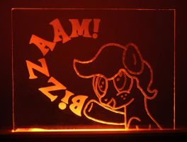 Canni Soda Acrylic LED Picture by steeph-k