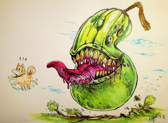 Hungry Pear of Salamanca by Khov97
