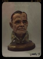 Chesty Puller Sculpture by Iith