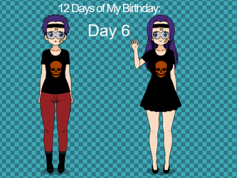 12 Days of My Birthday: Day 6 by TheLoudHouse1998