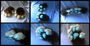 Alien Cat Handpaws by CuriousCreatures