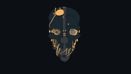Wallpaper Dishonored Minimalist by Thebigneku