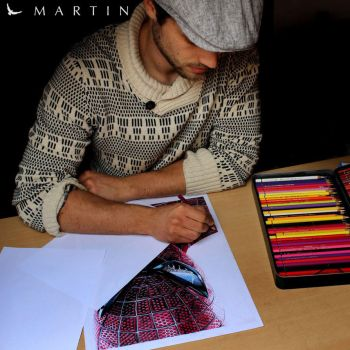 .: Drawing something Amazing :. by Martin--Art