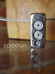 Gold Bradded Pendant by Spexton