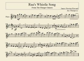 Rue's Whistle Song-- Flute Arrangement by flutepiccy