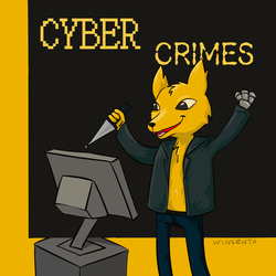 What would Gregg do in cyberpunk AU by Winsenta