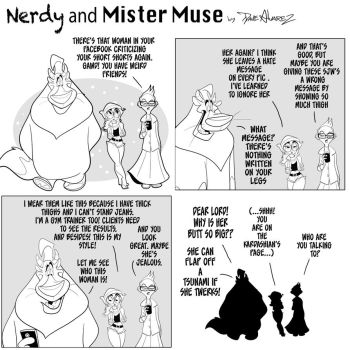 Its time for Nerdy and Mister Muse  by DaveAlvarez