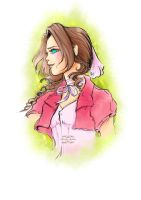 Aerith Gainsborough by gabrielleandhita
