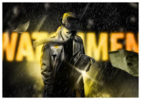 Watchmen - Rorschach by skam4